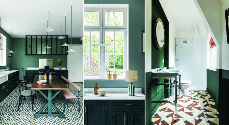 réalisations cuisine salle de bain en carreaux de ciments