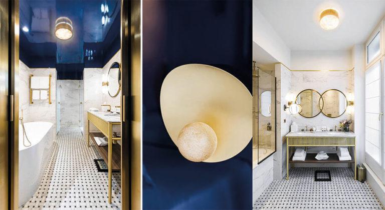Réalisation salle de bain pierre