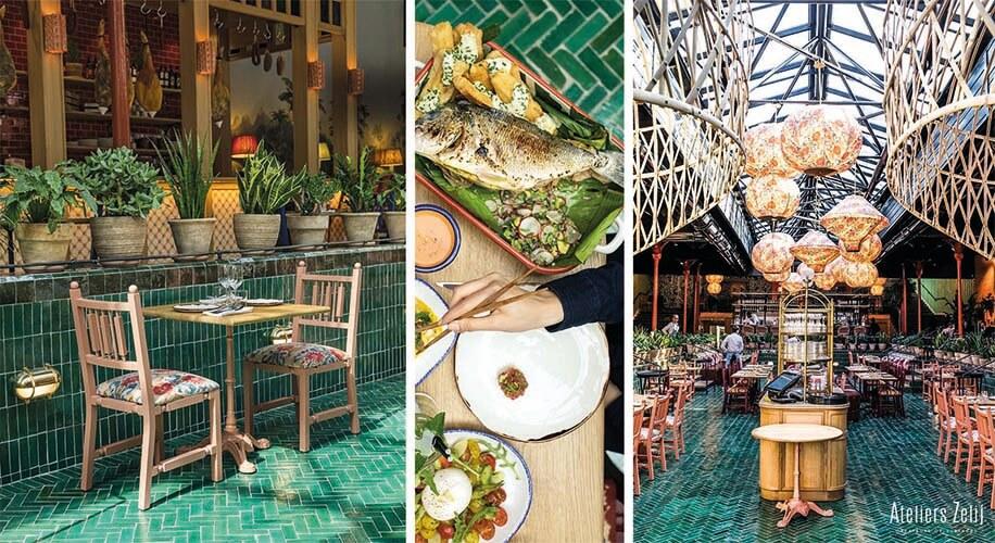 Projet Restaurant bejmat vert