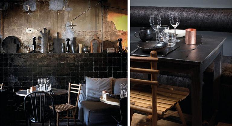 Projet Restaurant zellige noir